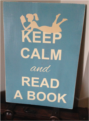 Keep Calm and Read a Book